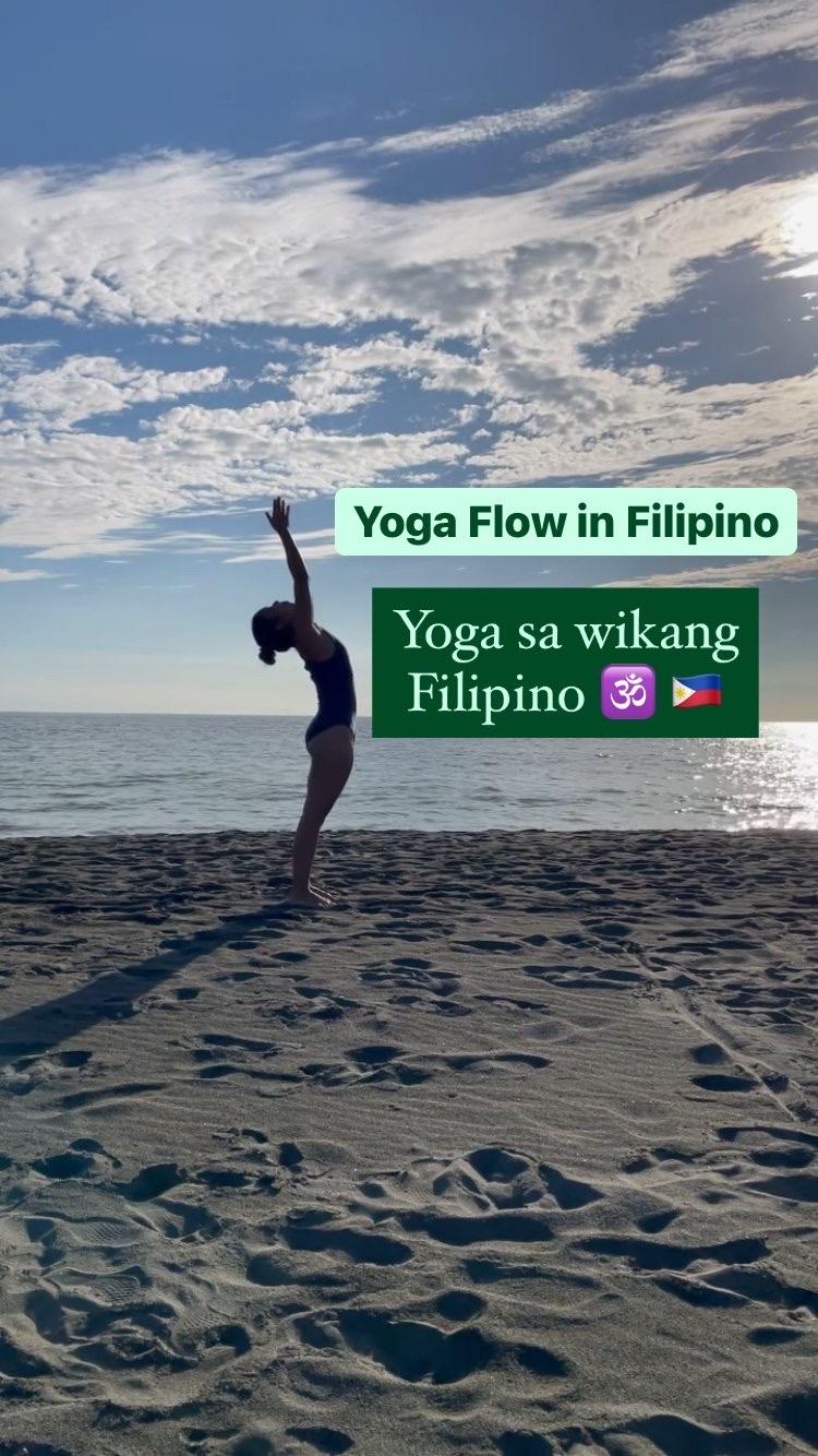 Short & Sweet Yoga Flow in Filipino ~ Yoga sa Wikang Filipino